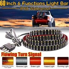 "60"" Triple Row Truck Tailgate Light LED Strip Reverse Brake Turn Signal Lamp -"