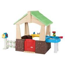 Little Tikes 630170M Deluxe Home and Garden Playhouse