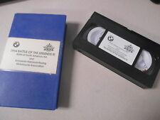 BMW VHS Video Cassette Tape 1994 Battle of The Legends 3 #J