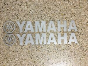 Yamaha Decals Silver Stickers Graphics Decals Dtr Ttr Wrf Banshee Yz Tank Belly