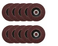 50pcs 125MM 40/60/80/100/120 Grits Assorted Aluminum Oxide Sanding Flap Discs