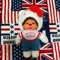 MONCHHICHI hello kitty plush doll collaboration 28cm