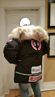 LIMITED EDITION IMPOSSIBLE TO FIND ICONIC CANADA GOOSE LANCE MACKEY PARKA MEN XL