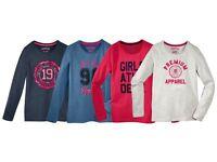 Mädchen-T-Shirts Mädchen Langarmshirt PEPPERTS NEU
