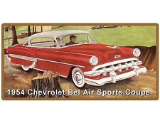 1954 Chevrolet Bel Air Sports Coupe Refrigerator / Tool Box Magnet