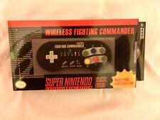 HORI Super SNES Classic Edition Fighting Commander Wireless Controller Pad BNIB