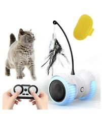 Cat Toys for Indoor Cats, 14 in 1 Smart Robotic Interactive Cat Toy, Auto/Rc