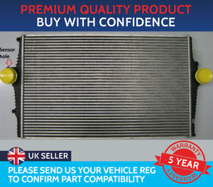 INTERCOOLER TO FIT VOLVO S60 S80 V70 XC70 PETROL D5 DIESEL HAS SENSOR HOLE