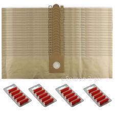 20 sacs pour aspirateur sacs pour nilfisk D10 GD110 Hoover Sac + frais
