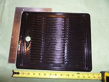 """New listing Porcelain Coated Cast Iron Griddle double Sided Unbranded 14"""" x 12"""" 13 pounds"""
