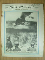 WAR ILLUSTRATED MAG No 99 JULY 25th 1941 SCORCHED EARTH POLICY IN RUSSIA