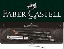 Faber-Castell perfecto lápiz Design negro estuche de regalo Perfect Pencil set
