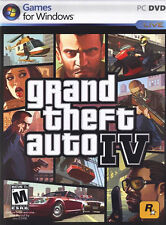 GRAND THEFT AUTO IV PC GAME! [2008] COMPLETE IN BOX! WINDOWS VISTA/XP! VG+