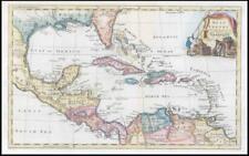 1764 - WEST INDIES Caribbean Leeward Windward Islands by Thomas Jefferys (KWM20)