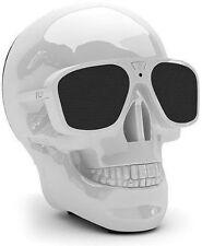 Aeroskull XS Bianco Diffusore Teschio Bluetooth cassa Idea Regalo audio White