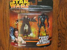Star Wars ROTS Obi-Wan Kenobi w/Jump Action & Break-Apart Super Battle Droid NSC