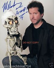 "Jeff Dunham Ventriloquist & Comedian Reprint Signed 8x10"" Photo RP Achmed"