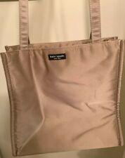 kate spade New York Taupe  Nylon Vintage Large Tote Bag Purse