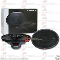 "ROCKFORD FOSGATE R169X3 6"" x 9"" 3-WAY CAR AUDIO COAX COAXIAL SPEAKERS"