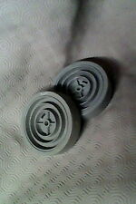 DYSON DC01 WHEEL SET AND AXLE SMALL CAP TYPE  CLEAN CONDITION