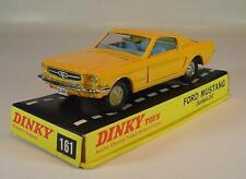 Dinky Toys 161 Ford Mustang Fastback 2+2 gelb in Box #6240