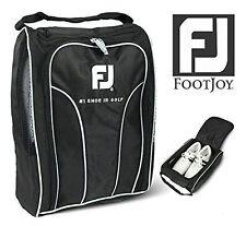 FOOTJOY Golf Shoes Bag Zipped Sports Bag Shoe Case Black Color UK