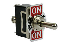 TEMCo Heavy Duty 20A 125V ON-OFF-(ON) SPDT 3 Terminal Toggle Switch Momentary