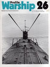 Warship Profile 26 FNFL SS Rubis (Profile 1972 1st) HLG Rousselot