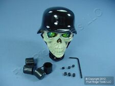 "New Demon Chopper Skull Replacement Manual Shifter Knob 5/16""-9/16"" Hot Rat Rod"