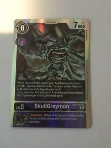 Digimon TCG  BT6-078  SKULLGREYMON   SUPER  RARE  -