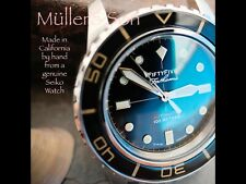 """Müller&Son Watch """"Gold Mod 1 No Date"""" made from Seiko SNZH57 Fifty Five Fathoms"""