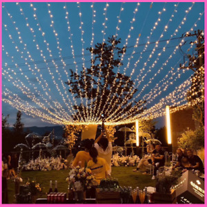 Garland LED String Fairy Light Chain Holiday Decoration Home Party Garden Neon