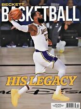 Beckett Basketball Price Guide Magazine December 2020 LeBron James cover
