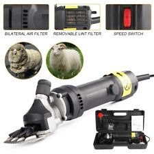 Sheep Goat Shears Clippers Electric Animal Shave Grooming Farm Supplies Black