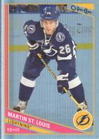 2013-14 O-Pee-Chee Hockey Rainbow #268 Martin St. Louis Tampa Bay Lightning