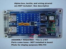 DIY KIT - OKL2 T-20 REGULATED BOX power supply 20A 110W - FOR ALPINETECH 1590G +