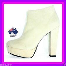 Zip Block Heel Clubwear Medium Width (B, M) Boots for Women