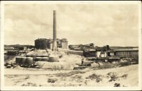 Copperhill TN Smelter Real Photo Postcard spg