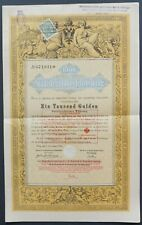 Austria - Imperial Austrian Government - 1868 - 5% bond for 1000 gulden