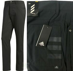 Adidas Adicross Beyond 18 5 Pocket Golf Trousers - W40 L30 Tapered Fit - RRP£60