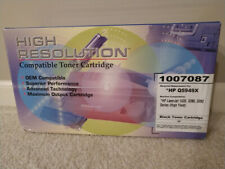 High Yield Toner (BLACK) for HP LaserJet 1320/3390/3392 or Cannon LBP3300/3360