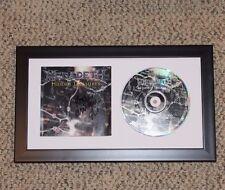 MEGADETH SINGER DAVE MUSTAINE SIGNED FRAMED HIDDEN TREASURES CD COVER W/COA