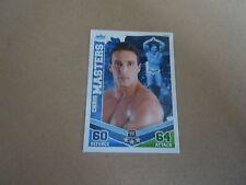 Carte catch Slam Attax Mayen 2010 Bleu - Chris Masters