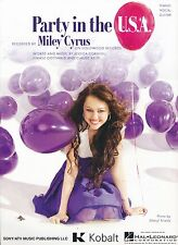 Party In The USA - Miley Cyrus - 2009 Sheet Music