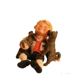 Candy Designs Norway Boy with Puppies Figure, NEW
