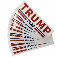 10PCS Bumper Stickers For 2020 Donald Trump President Make America Great Again