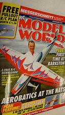"""RC Model World Free Plan BF-109E 28"""" Span BFMA Nats Issue 382 Nov 2015"""