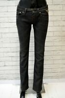 REPLAY Jeans Nero Donna Taglia 27 Pants Women Black Pantalone Denim Casual