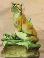 Fox Figurine Musical Base