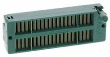3M 2.54mm Pitch Vertical 40 Way, Through Hole Closed Frame ZIF IC Dip Socket, 1A